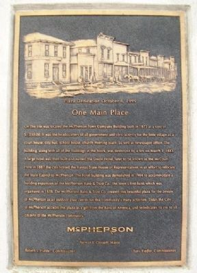 One Main Place Marker image. Click for full size.
