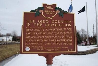 The Ohio Country in the Revolution Marker image. Click for full size.