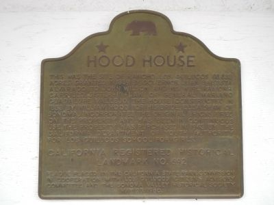 Hood House Marker image. Click for full size.