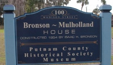 Bronson-Mulholland House image. Click for full size.