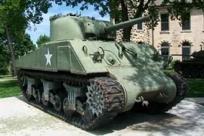 M4A3 Sherman Medium Tank image. Click for full size.