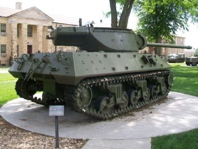 M36 Tank Destroyer and Marker image. Click for full size.