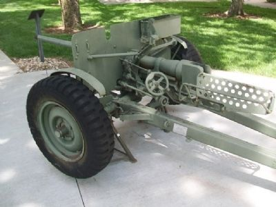 M3A1 37 mm Anti-Tank Gun image. Click for full size.