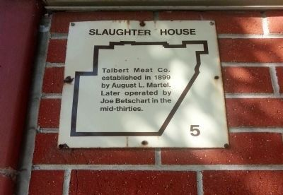 Slaughter House Marker image. Click for full size.