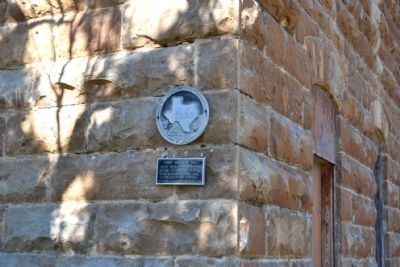 First Callahan Jail Marker image. Click for full size.