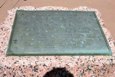 Bronze Inscription Tablet of Callahan County Marker image. Click for full size.