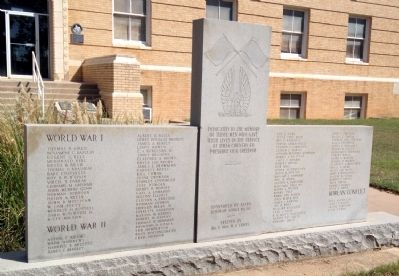 Callahan County War Memorial image. Click for full size.