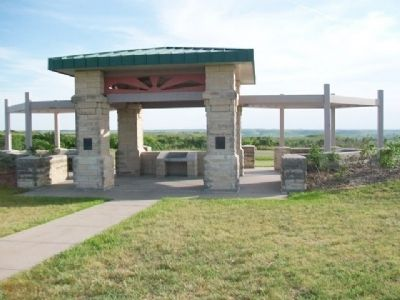 Konza Prairie-Kansas River Valley Interpretive Center image. Click for full size.