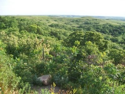 View of Flint Hills from K-177 Overlook Park image. Click for full size.