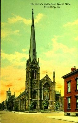 <i>St. Peter&#39;s Cathedral, North Side, Pittsburgh, Pa.</i> image. Click for full size.