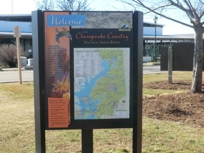Chesapeake Country National Scenic Byway Marker image. Click for full size.