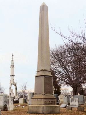 Joseph Gales Monument image. Click for full size.