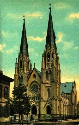 <i>Cathedral of St. John the Baptist, Savannah, Ga.</i> image. Click for full size.