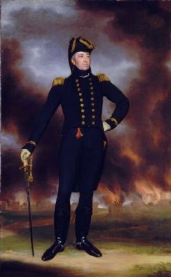 Rear Admiral Sir George Cockburn image. Click for full size.
