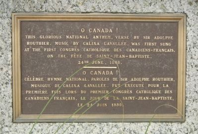 O Canada! Marker image. Click for full size.
