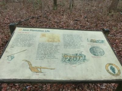 Java Plantation Life Marker image. Click for full size.