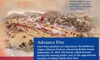 Battle of North Point image. Click for full size.
