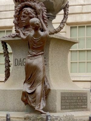 Fame Draping the Garland over Daguerre's Head image. Click for full size.