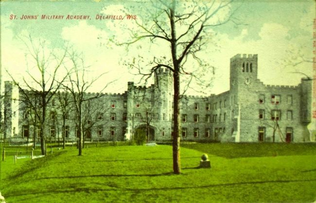 <i>St. Johns&#39; Military Academy, Delafield, Wis.</i> image. Click for full size.