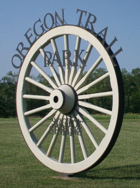 Oregon Trail Park Sign