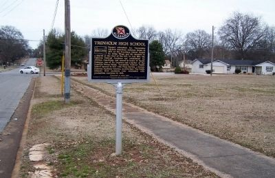 Trenholm High School Marker image. Click for full size.