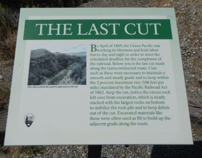 The Last Cut Marker image. Click for full size.