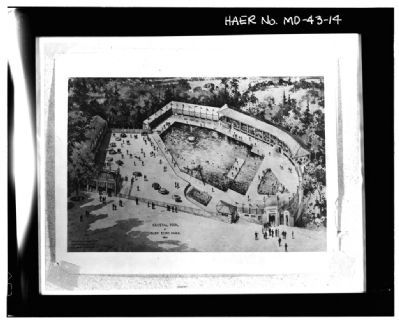 Aerial view of Glen Echo Park's Crystal Pool image. Click for full size.