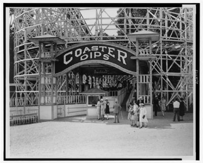 "Entrance to the ""Coaster Dips"" of Glen Echo image. Click for full size."