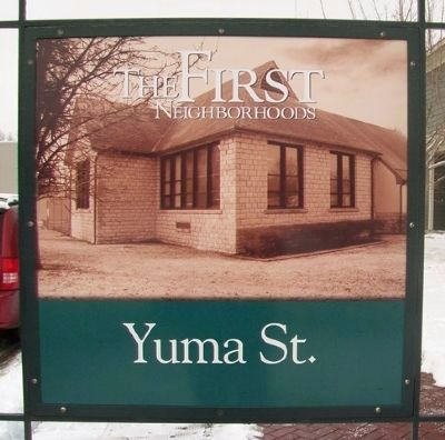 Yuma Street Marker image. Click for full size.