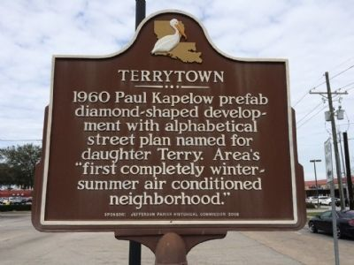 Terrytown Marker image. Click for full size.