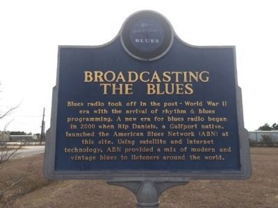 Broadcasting the Blues Marker (Front) image. Click for full size.