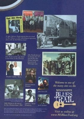 Blues & Jazz in the Pass Marker (Closeup) image. Click for full size.