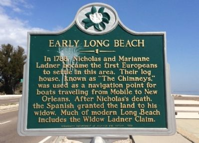 Early Long Beach Marker image. Click for full size.