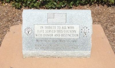 Military Service Monument Marker image. Click for full size.