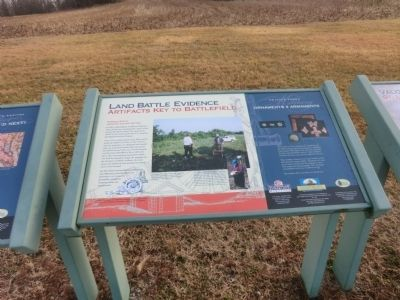 Land Battle Evidence Marker image. Click for full size.