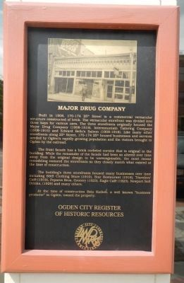 Major Drug Company Marker image. Click for full size.