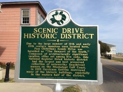 Scenic Drive Historic District Marker image. Click for full size.