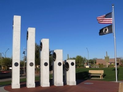 Anthem Veterans Memorial image. Click for full size.