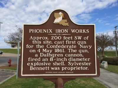 Phoenix Iron Works Marker image. Click for full size.