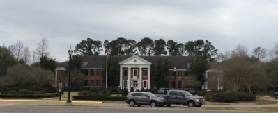 Across the street is Nicholls State University image. Click for full size.