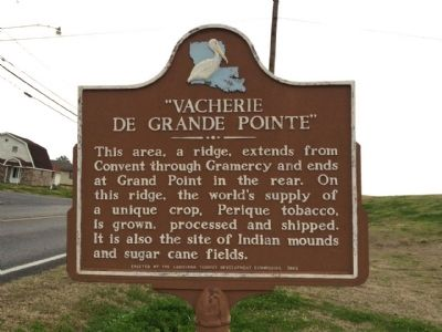 """Vacherie de Grande Pointe"" Marker image. Click for full size."