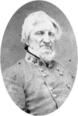 John H. Winder as a Colonel of the Confederate States Army, 1861 image. Click for full size.