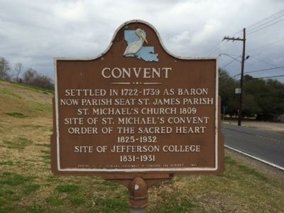 Convent Marker image. Click for full size.