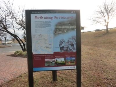 Perils along the Patuxent Marker image. Click for full size.
