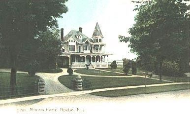 Henry W. Merriam house postcard image. Click for full size.