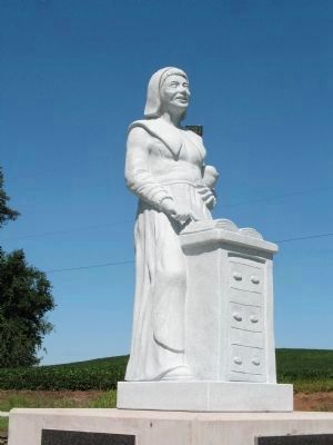 Elizabeth Piper Strawbridge Monument image. Click for full size.