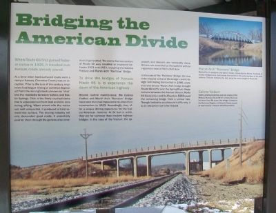 Bridging the American Divide Marker image. Click for full size.
