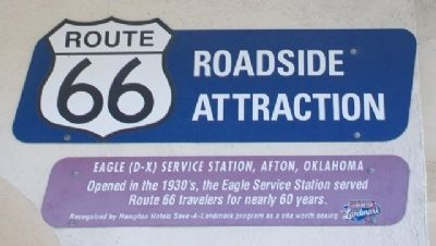 Eagle (D-X) Service Station Marker image. Click for full size.