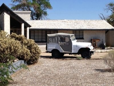 Roy Rogers Jeep at family home. image. Click for full size.