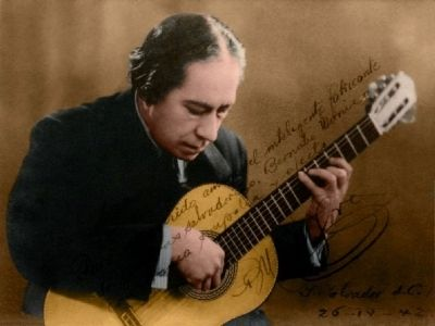 "Agustín Barrios, ""Mangoré"" image. Click for full size."